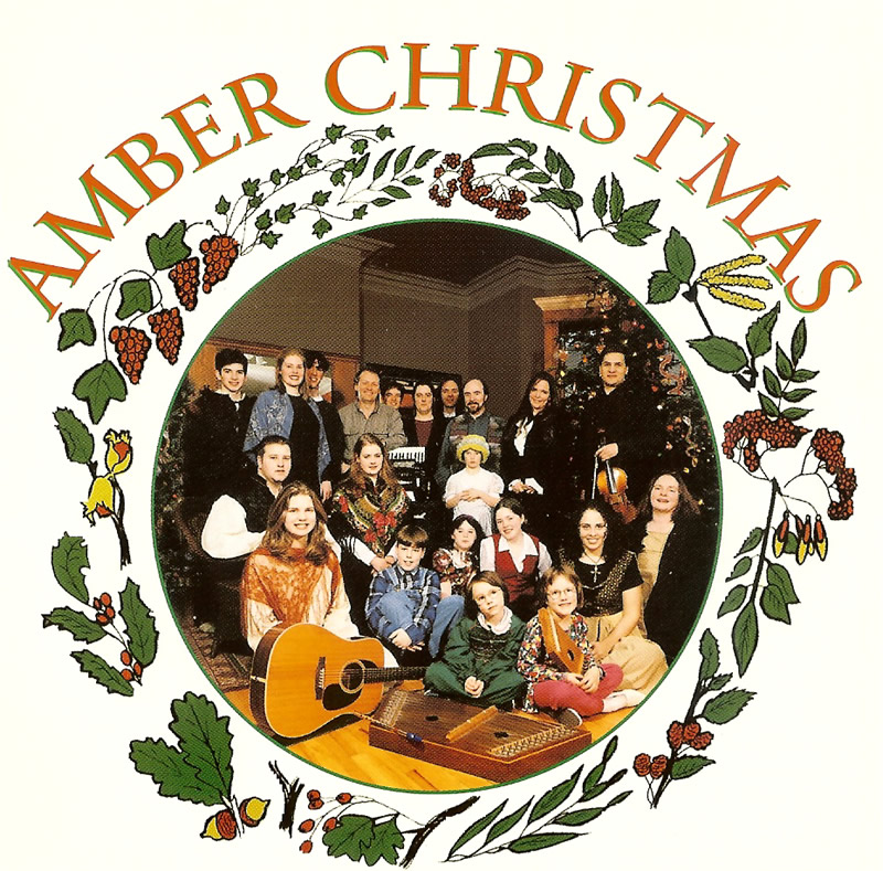 Amber Christmas CD cover original