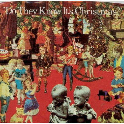 Do They Know It's Christmas single cover Peter Blake