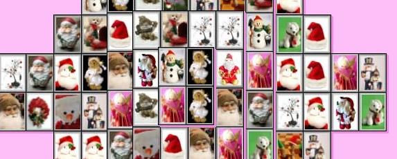 Christmas mahjong cropped