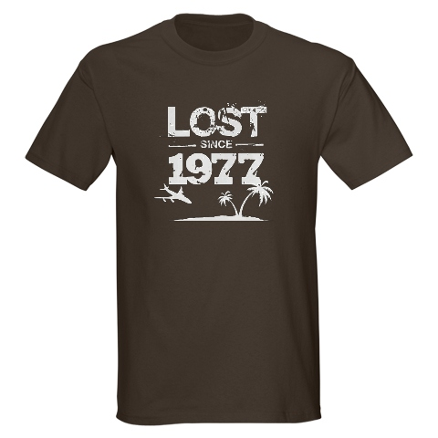 Lost Since 1977 T-shirt
