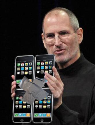 Steve Jobs iPad multitask