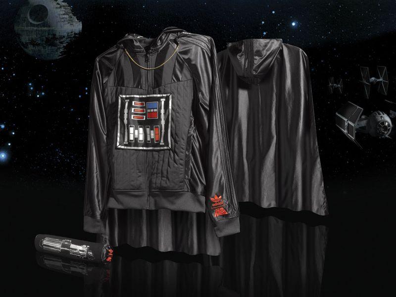Adidas Darth Vader apparel