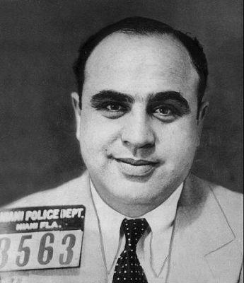 Al Capone Florida mug shot