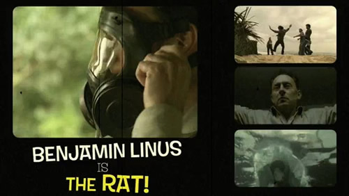 Benjamin Linus as the Rat