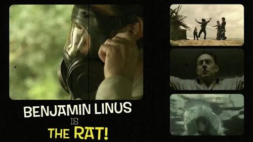 Benjamin Linus as the Rat