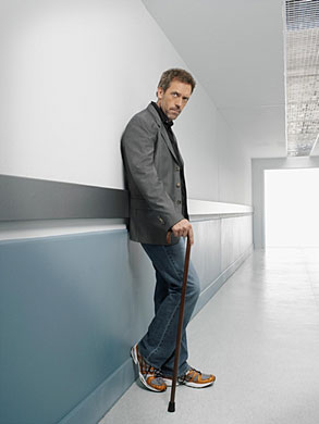 Hugh Laurie as Gregory House
