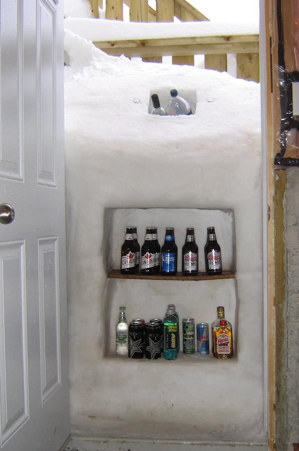 Snowstorm cooler