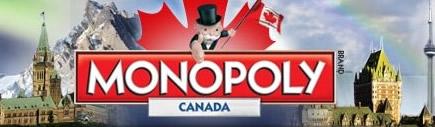 Monopoly Canada board header