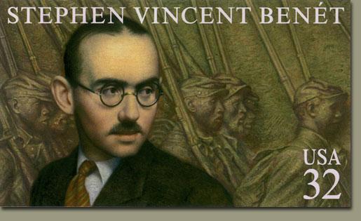 Stephen Vincent Benet stamp