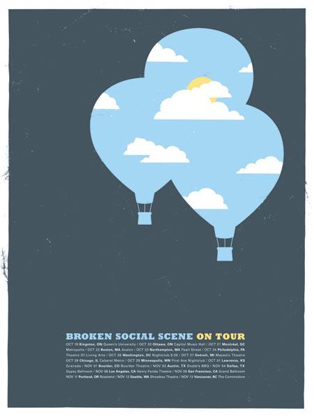 Broken Social Scene poster