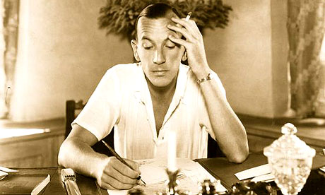 Noel Coward writing