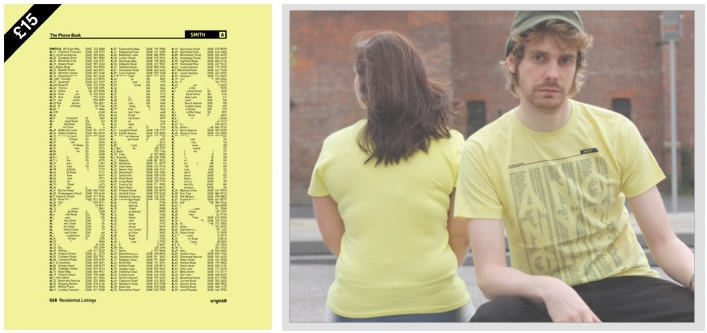 Anonymous yellow pages Tshirt