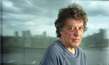 Tom Stoppard in T shirt