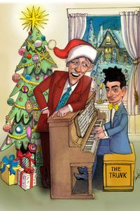 Bing Crosby and Irving Berlin White Christmas WSJ illustration