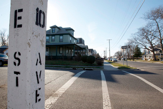 E Street Belmar New Jersey Bruce Springsteen 10th Avenue