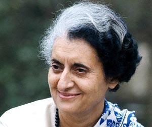 Indira Gandhi smile