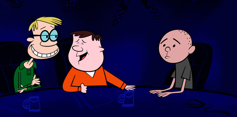 Ricky Gervais Show cartoon