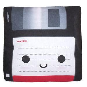 Floppy disc pillow