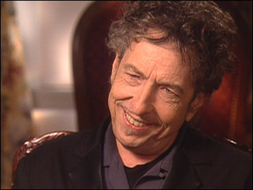 Bob Dylan smiles