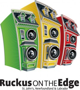 Ruckus on the Edge logo