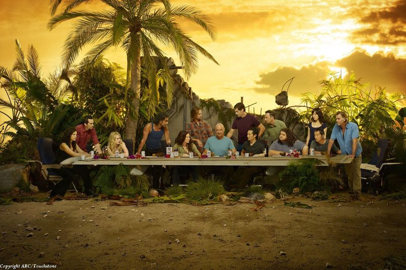 Lost final season Last Supper promotional image