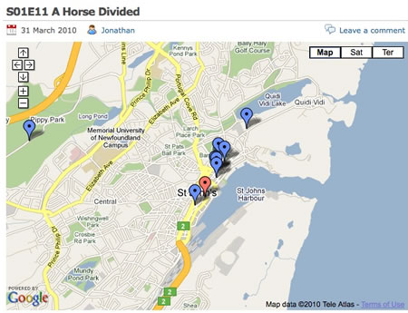 Doylemaps A Horse Divided