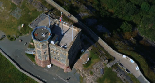 Signal Hill Republic of Doyle aerial