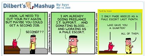 Dilbert mashup Asok