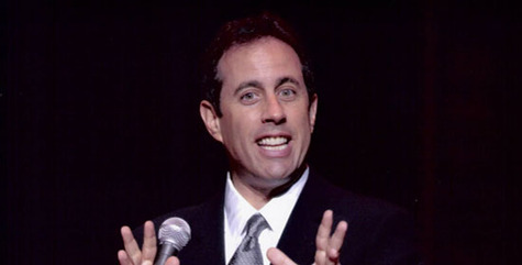 Jerry Seinfeld performing 550