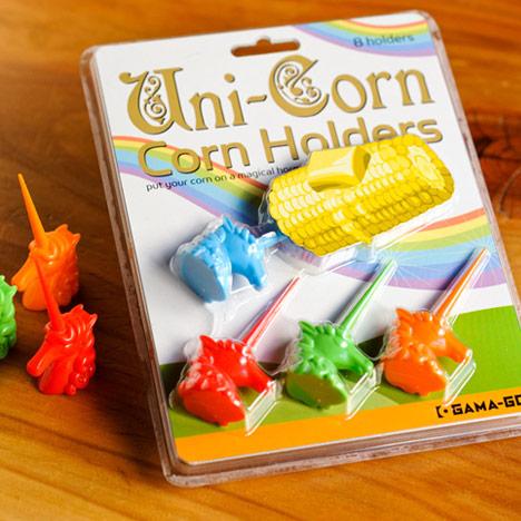 Unicorn corn holders