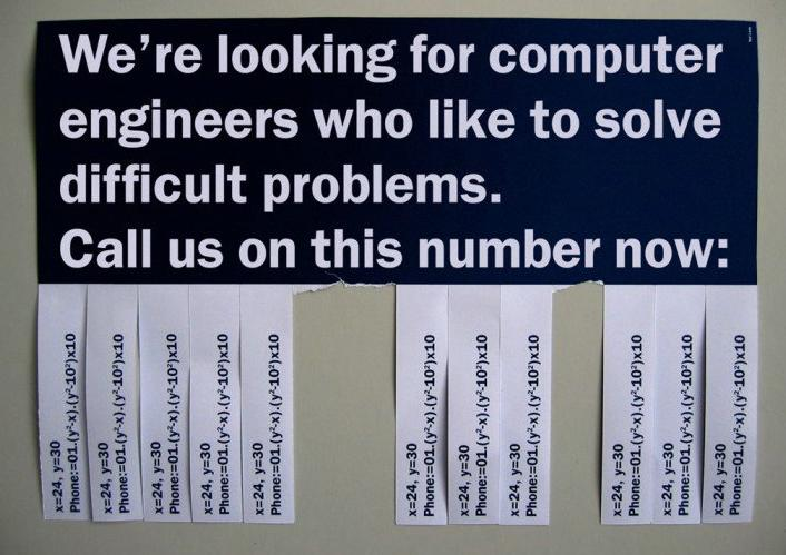 Engineer numbers