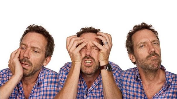 Hugh Laurie in Vanity Fair in character series
