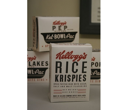 Vintage Rice Krispies box