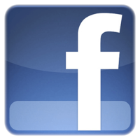 Facebook logo blue F