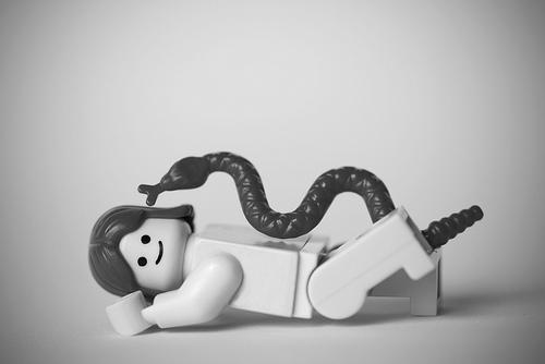 Lego Kinski snake Avedon