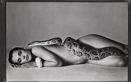 Nastassja Kinski snake Richard Avedon
