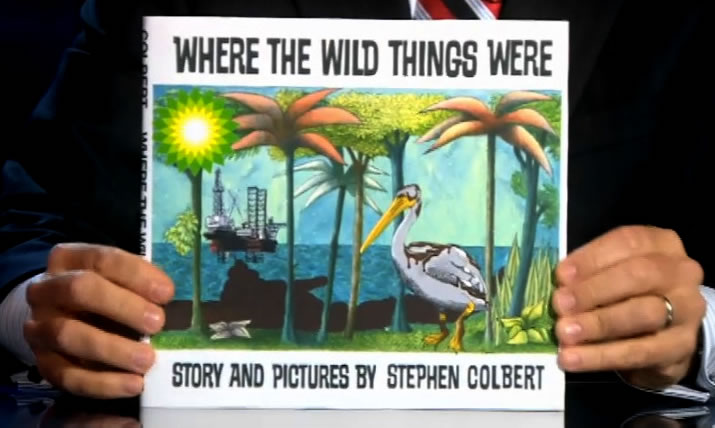 Where The Wild Things Are Stephen Colbert