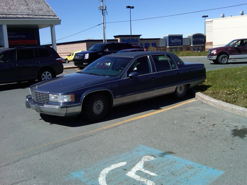 Dominion parking lot