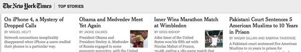 New York Times skimmer grab