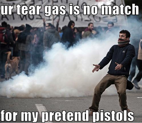 Pretend pistols