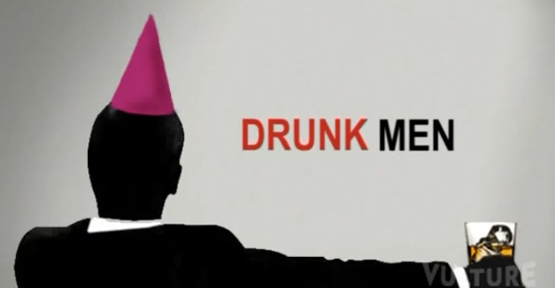 Drunk Men Vulture Mad Men on drinking