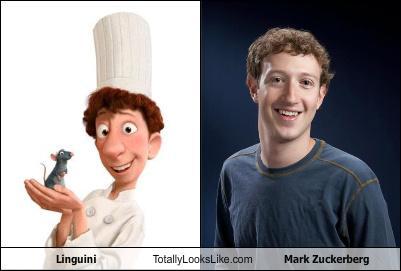 Linguini Mark Zuckerberg