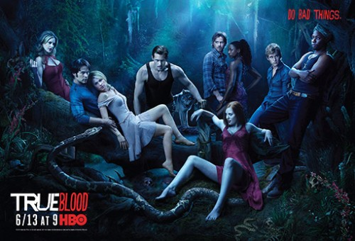 True Blood cast season 3 HBO promotional photo