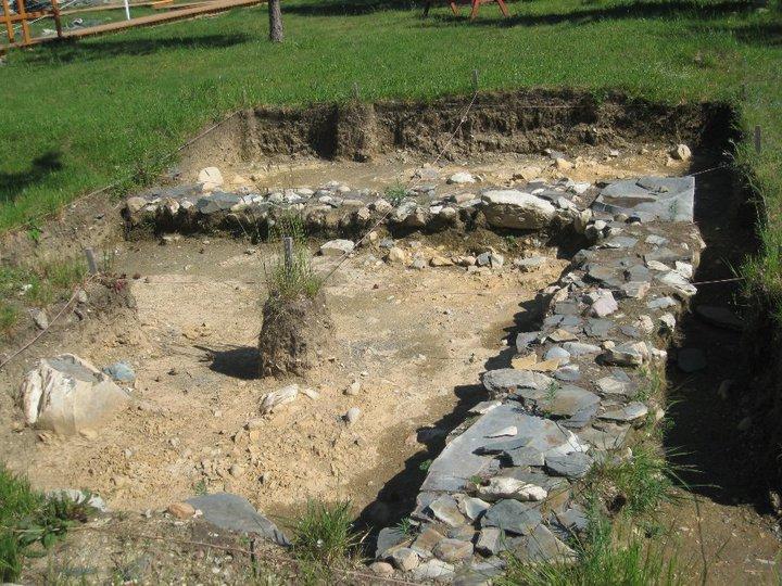 Cupids archeological dig