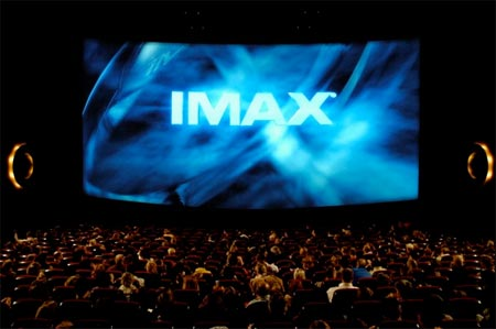 Imax logo screen