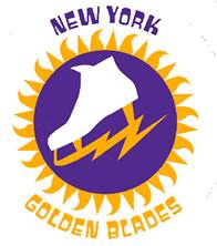 New York Golden Blades logo