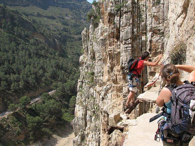 Caminito del Rey Spanish pathway