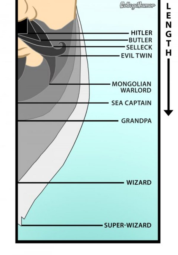 Know your facial hair