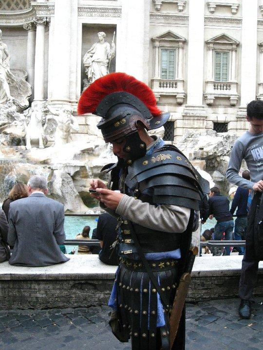 Texting centurion