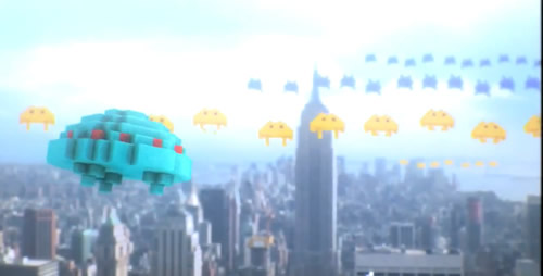 Space Invaders in New York